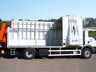 HEGLA trucks with sliding bow cover